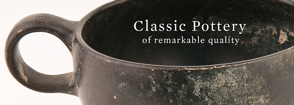 Classic Pottery of Remarkable Quality